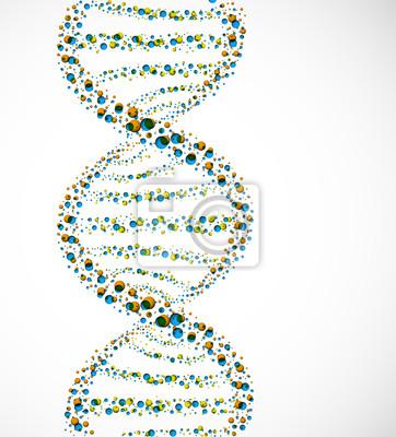 Wall mural DNA molecule
