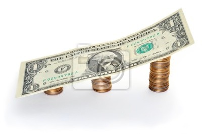 Dollar exchange rate growth