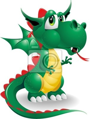 Drago Dragon Cartoon - Cartoon - Vector