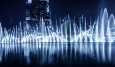 Wall mural Dubai fountain
