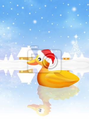 duck at Christmas
