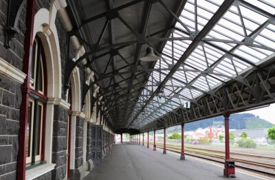 Wall mural Dunedin Railway Station