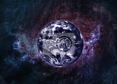 Wall mural Earth in beautiful space