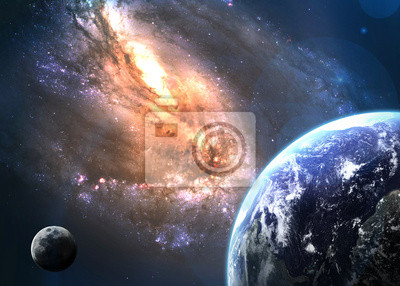 Earth in space