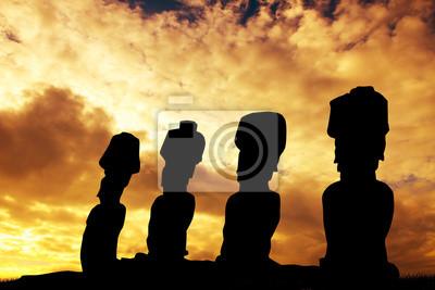 Wall mural Easter Island