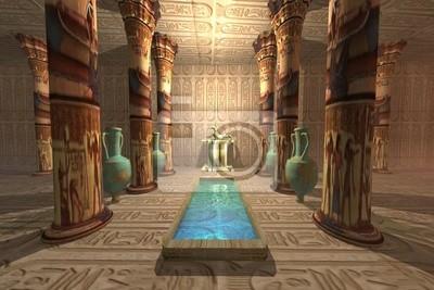 EGYPTIAN TEMPLE