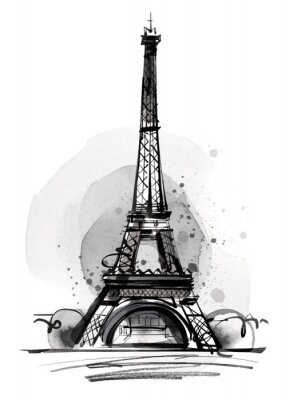 Wall mural Eiffel Tower