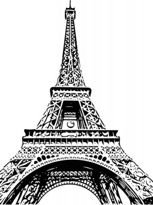 Wall mural Eiffel Tower
