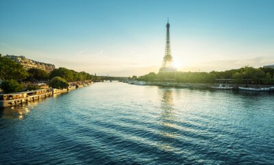 Eiffel tower in Paris. France