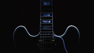 Wall mural Electric Guitar Abstract