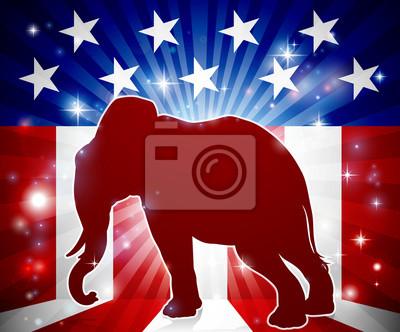Elephant Republican Political Mascot