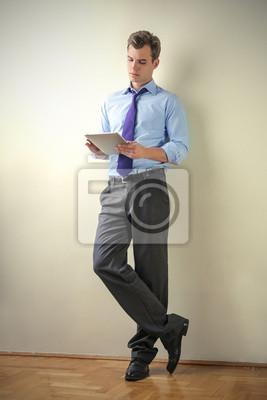 Employee at work
