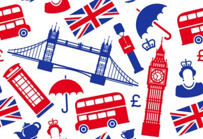 Wall mural England background