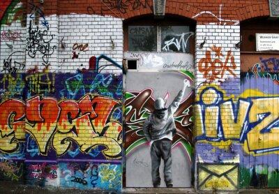 façade a graffiti