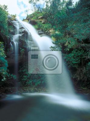 Famous Doreen Falls, District Municipality, KwaZulu-Natal, South Africa
