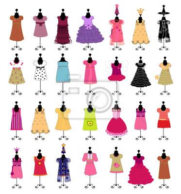 Fashion. Dresses for girls. set
