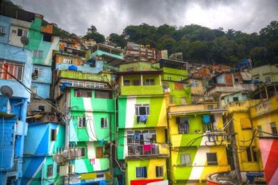 Wall mural  Favela