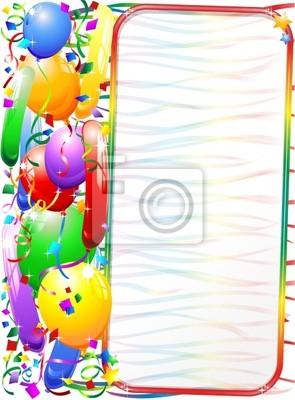 Festa di Compleanno-Sfondo-Party Birthday Background-2-Vector