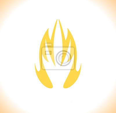 fire icon set vector illustration design symbol collection