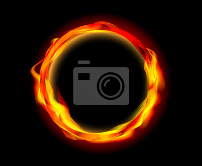 fire ring vector