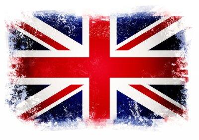 Wall mural Flag of the United Kingdom