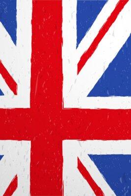 Wall mural flaga brytyjska wektor
