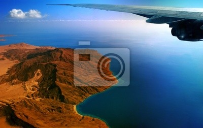 flight above peninsula sinai