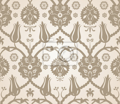 Wall mural Floral seamless pattern background