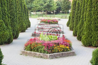 flowering walkway