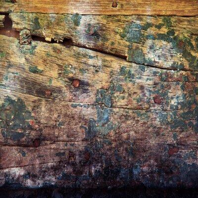 Wall mural fondo legno grunge