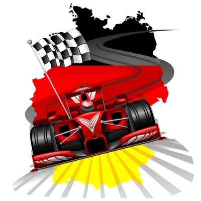 Wall mural Formula 1 GP Germany