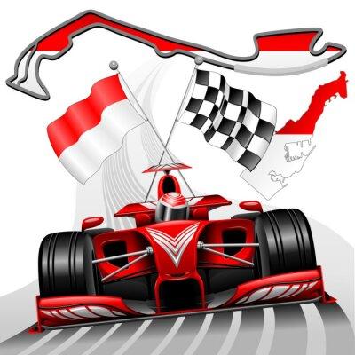 Wall mural Formula 1 GP Monaco