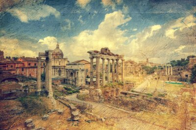 Wall mural Foro Romano. Rome. Italy.