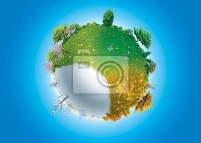 Four seasons of Planet Earth