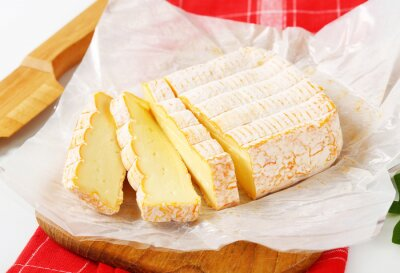 Wall mural French washed rind cheese