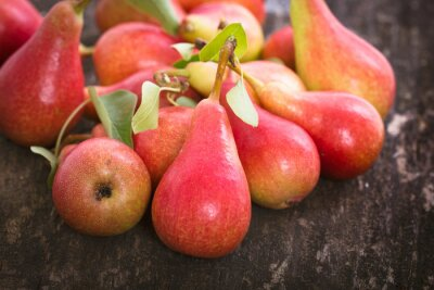 Wall mural Fresh organic pears