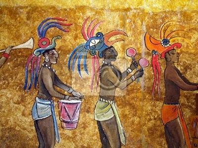 fresque au yucatan