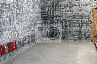 Wall mural Frontón