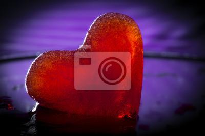 frozen little red heart