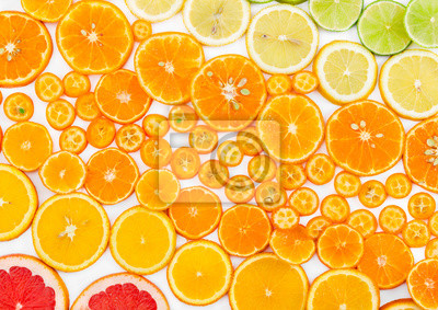 Fruit citrus background.