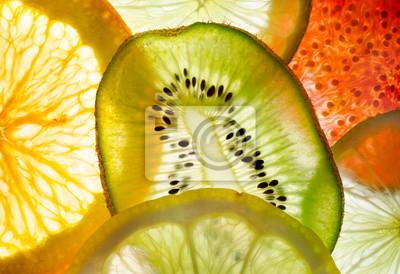 fruit mix (fig, lime, lemon, orange, kiwi)