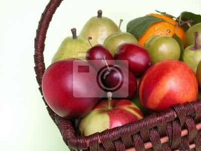 Wall mural fruits
