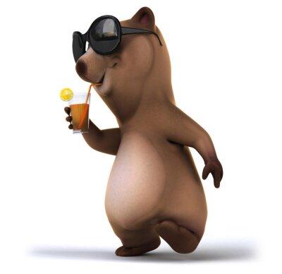 Wall mural Fun bear