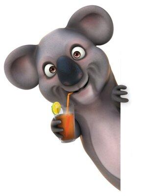 Wall mural Fun koala
