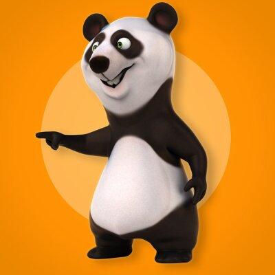 Wall mural Fun panda