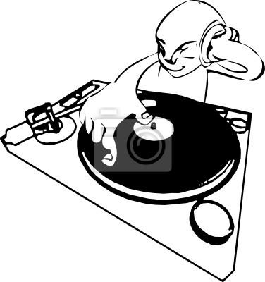 funky dj mixing