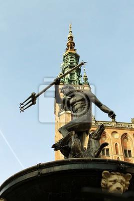 Gdańsk Neptun i katedra