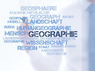 Wall mural Geographie
