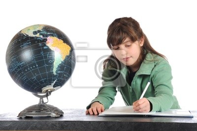 Wall mural Geography