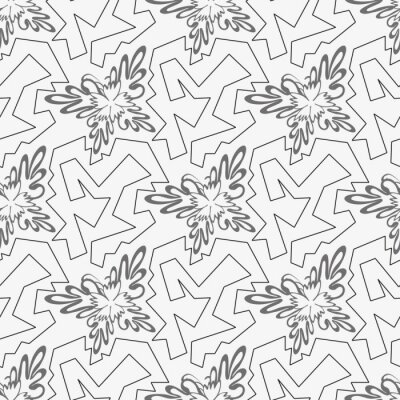 geometric abstract seamless pattern on a light background for your design
